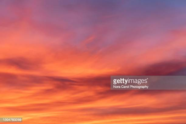vibrant and colorful sunset background - sunset stock pictures, royalty-free photos & images