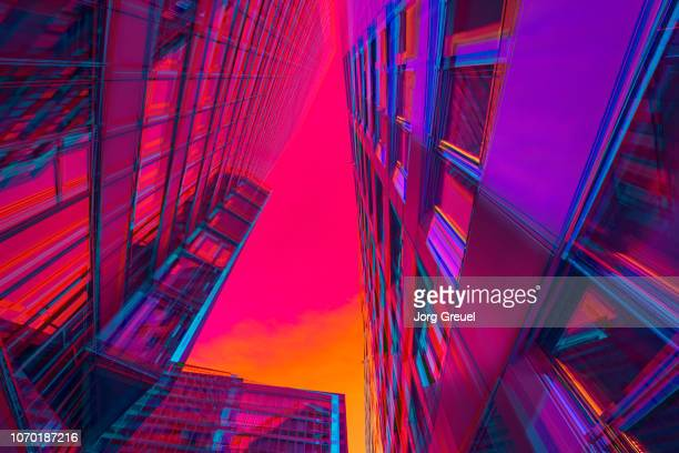 vibrant architecture - image stock pictures, royalty-free photos & images