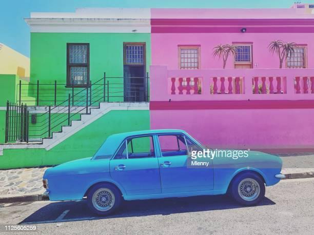 Vibrant Bo-Kaap Capetown South Africa