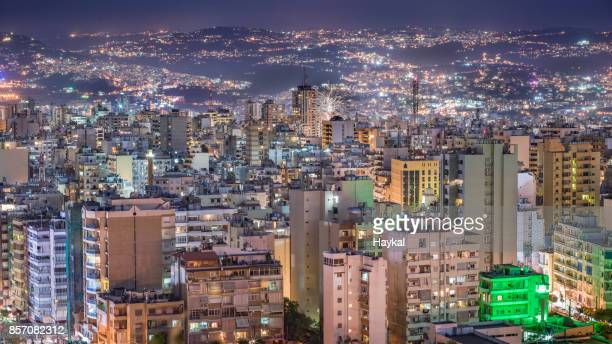 Vibrant city of Beirut