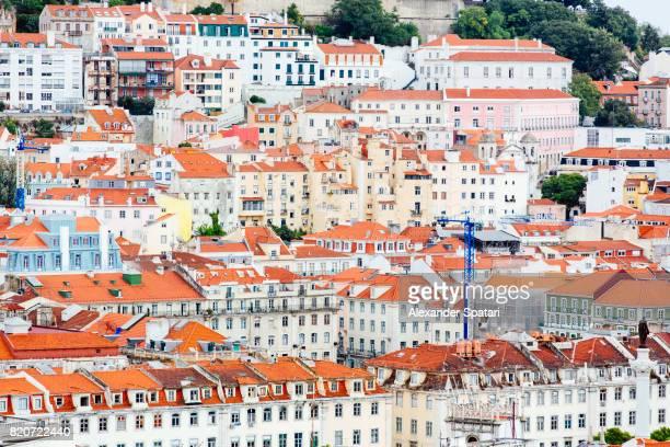 Vibrant cityscape of Lisbon, Portugal