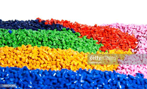 vibrant colorful pieces of tiny bits of plastic - rubber stock pictures, royalty-free photos & images