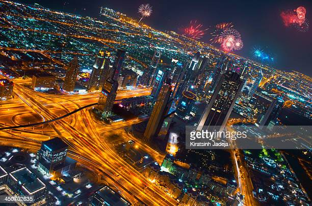 Vibrant Dubai Celebrating The New Year