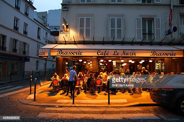 vibrant evening - paris night stock pictures, royalty-free photos & images