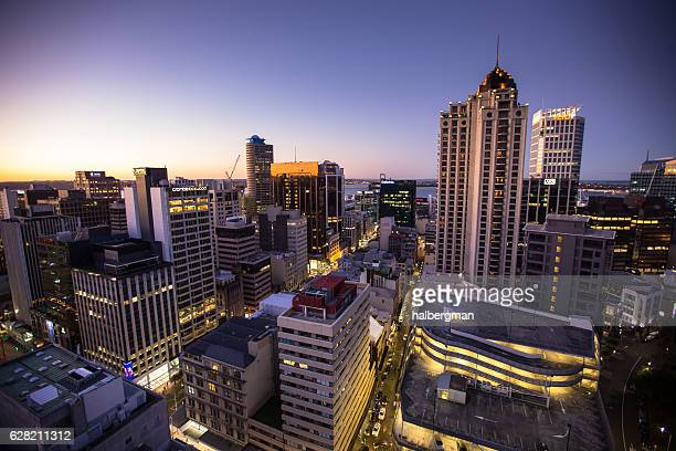 Vibrant New Zealand City Lights