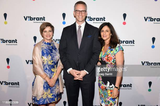 Vibrant President and CEO Kimberly Williams Charles P Fitzgerald and Dinner Chair and Board Chair Jennifer Ashley attend 27th Annual Gala...