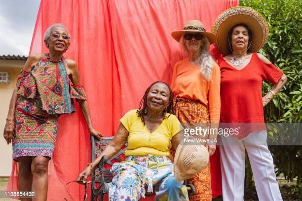 Vibrant Seniors Women of Jamaica