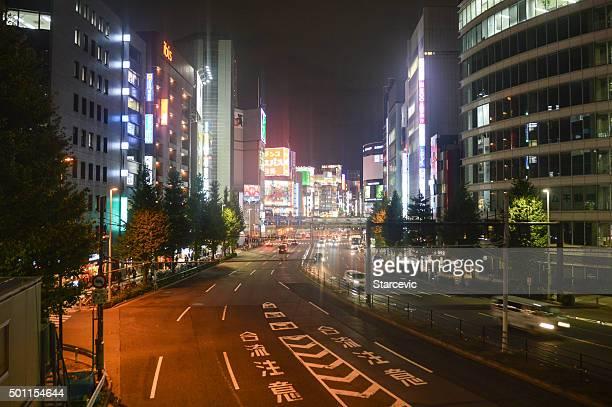 Vibrant Shinjuku District in Tokyo, Japan