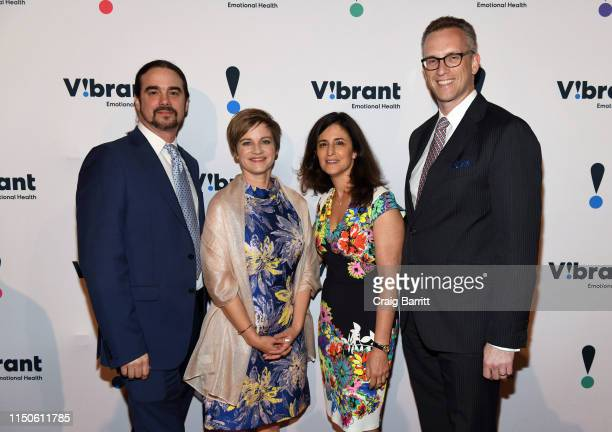 Vibrant VP John Draper Vibrant President and CEO Kimberly Williams Dinner Chair and Board Chair Jennifer Ashley and Honoree Charles P Fitzgerald...