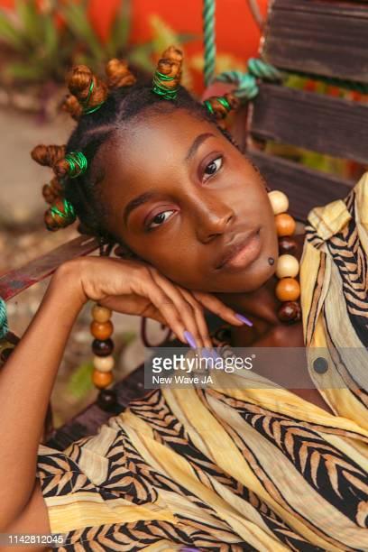 Vibrant Women in Jamaica