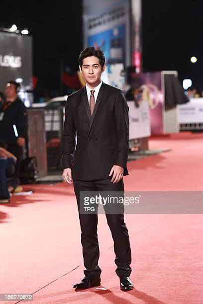 Vic Chou attends the red carpet of the 48th Golden Bell Award on Friday October 252013 in TaipeiChina