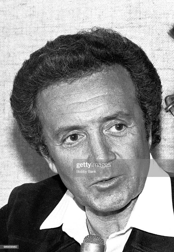 Vic Damone at Garden State Arts Center on August 29, 1979 in Holmdel, New Jersey.
