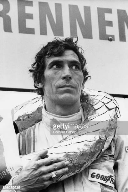 Vic Elford 1000 Km of Nürburgring Nurburgring 30 May 1971 Vic Elford after his victotry in the 1971 1000 Km of Nürburgring which he won with his...