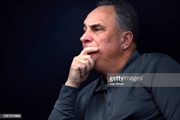 Vic Fangio Denver Broncos Head Coach listening to his coaching coordinators Rich Scangarello Offensive Ed Donatell Defensive Tom McMahon Special...