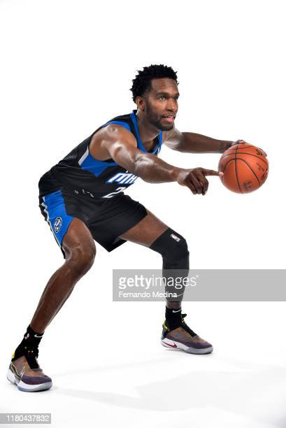 Vic Law of the Lakeland Magic pose for a portrait during G League Media Day on November 4 2019 at HAUS 820 in Lakeland Florida NOTE TO USER User...