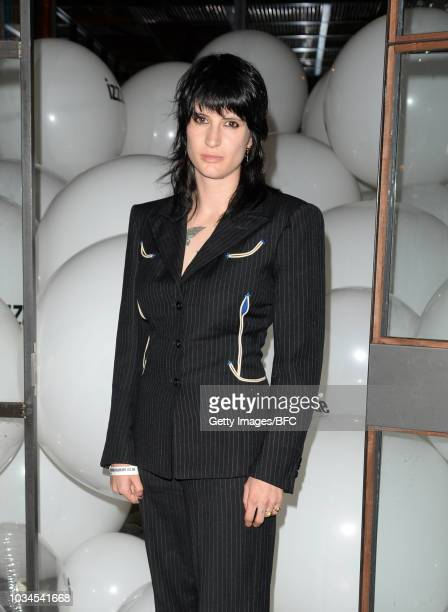 Vic Lentaigne attends the Izzue X Ponystep LFW Party during London Fashion Week September 2018 on September 16 2018 in London England