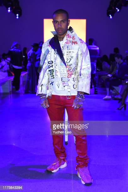 Vic Mensa attends Aliette fashion show during New York Fashion Week The Shows at Gallery II at Spring Studios on September 11 2019 in New York City