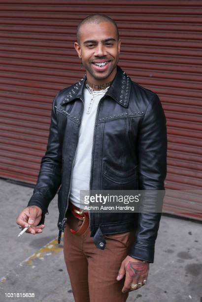 Vic Mensa is seen on the street during New York Fashion Week on September 11 2018 in New York City
