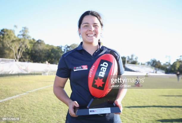 Vic Metro's MVP Maddy Prespakis at Bond University on July 13 2018 in Gold Coast Australia