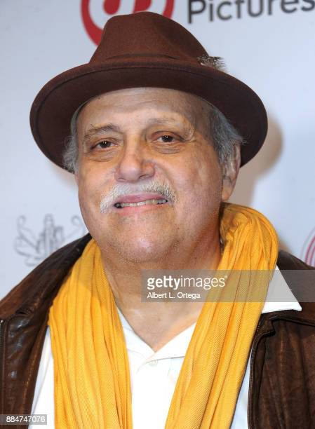 Vic Polizos arrives for the TJ Scott Book Launch For 'In The Tub Volume 2' held at Cinematic Pictures Group Gallery on December 2 2017 in Hollywood...