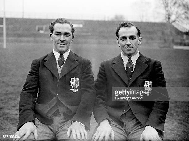 Vic Roberts and Ivor Preece England and British Lions