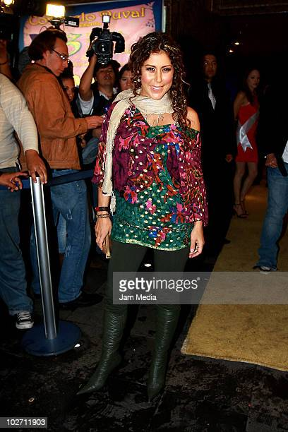 Vica Andrade attends at the inaguration of Show Center on July 07 2010 in Mexico City Mexico