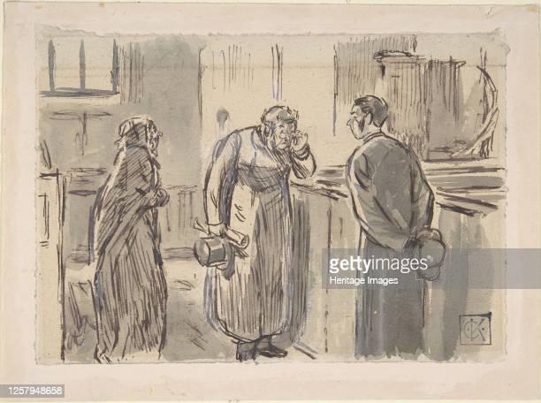 A Vicar and a Curate 18701891 Artist Charles Samuel Keene