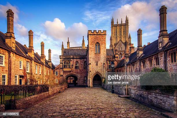 Vicars Close, Wells Cathedral, Somerset, England