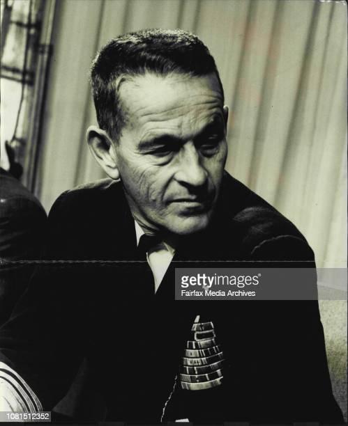 Vice Admiral golden T Hayward leaves Mascot April 24 1964