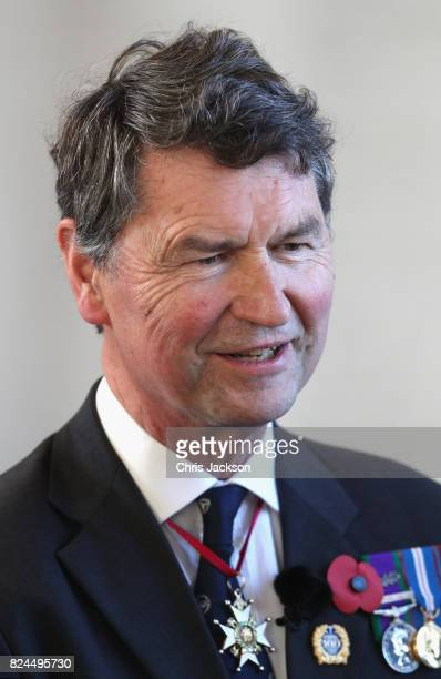 Vice Admiral Sir Timothy Laurence attends commemorations to mark the centenary of Passchendaele The Third Battle of Ypres at the Commonwealth War...