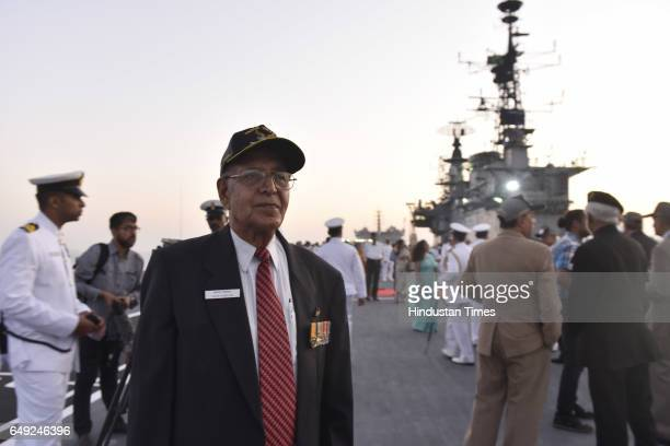 Vice Admiral Vinod Pasrichafirst CO of INS Viraat Oldest serving aircraft carrier was decommissioned at Naval Dockyard on March 6 2017 in Mumbai...