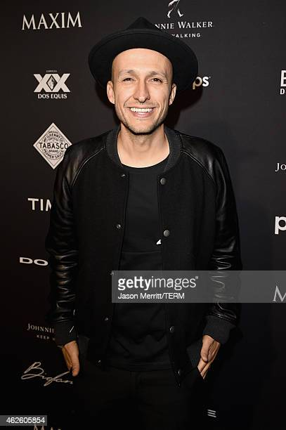 Vice attends the Maxim Party with Johnnie Walker, Timex, Dodge, Hugo Boss, Dos Equis, Buffalo Jeans, Tabasco and popchips on January 31, 2015 in...