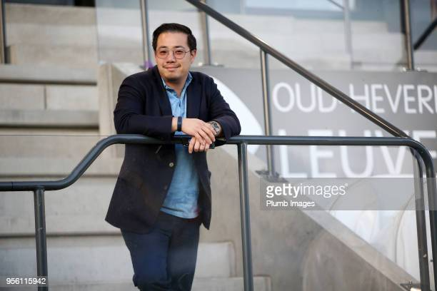 Vice Chairman Aiyawatt Srivaddhanaprabha of OH Leuven ahead of the Belgian First Division A Europa League Playoff tie between OH Leuven and K.V....