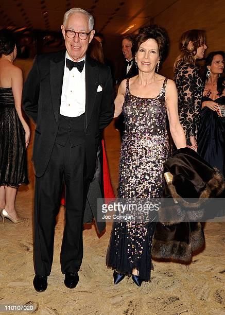Vice Chairman Chief Operating Officer Chanel SA Arie Kopelman and wife Coco Kopelman attends the 2011 School of American Ballet Winter Ball at David...