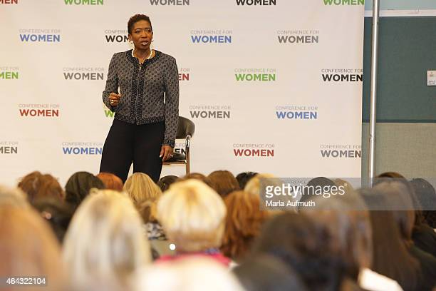 Vice Chairman Global Wealth Management Managing Director and Senior Client Advisor at Morgan Stanley Carla Harris speaks at 'Strategize to Win The...