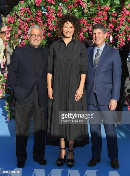Vice Chairman NBC Universal Ron Meyer Chairwoman Universal Pictures Donna Langley and Chairman Universal Filmed Entertainment Group Jeff Shell attend...