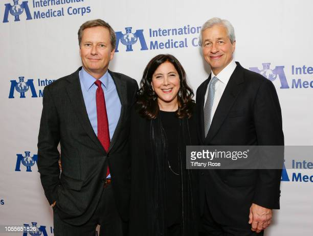 Vice Chairman of Lionsgate Michael Burns President and Chief Executive Officer of the International Medical Corps Nancy Aossey and CEO of JPMorgan...