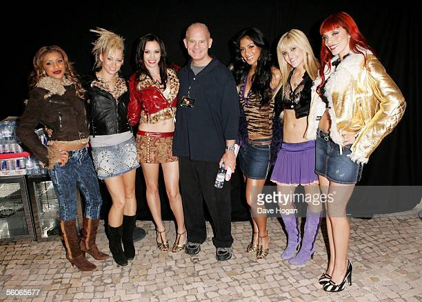 Vice Chairman of MTV Networks and President of MTV Networks International Bill Roedy and The Pussycat Dolls Melody Thornton Kimberly Wyatt Jessica...