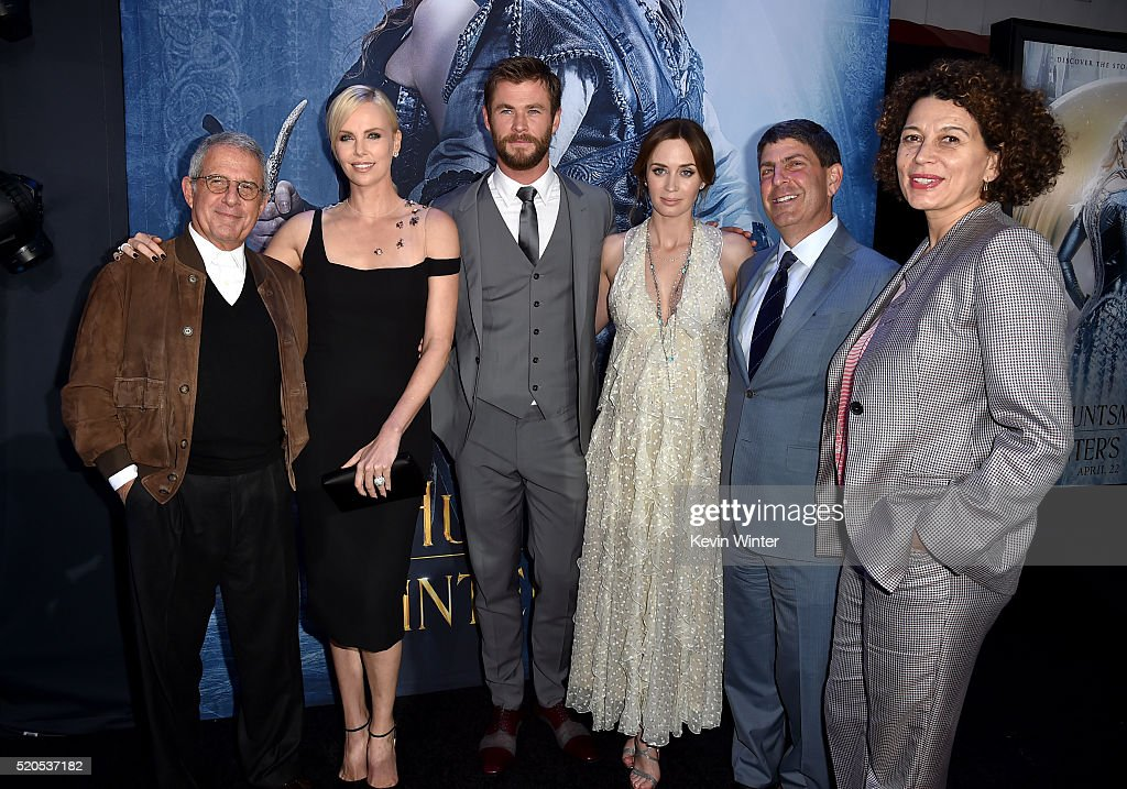 """Premiere Of Universal Pictures' """"The Huntsman: Winter's War"""" - Red Carpet : News Photo"""