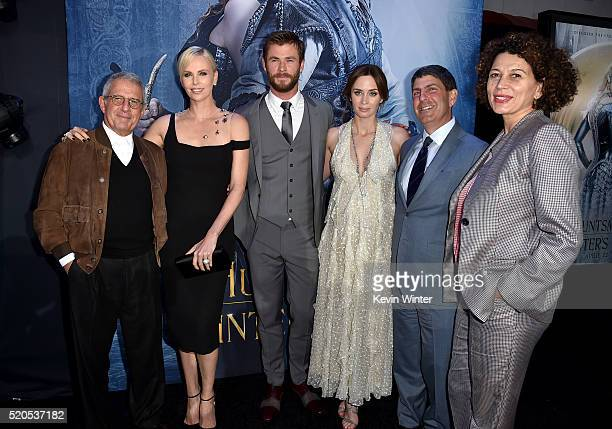 Vice Chairman of NBCUniversal Ron Meyer actress Charlize Theron actor Chris Hemsworth actress Emily Blunt Chairman of Universal Filmed Entertainment...