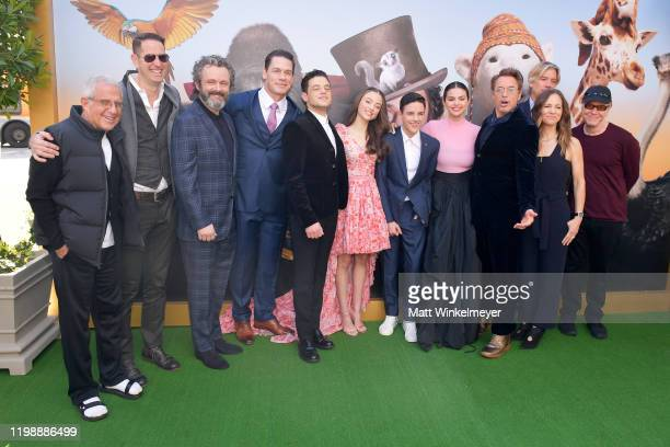 Vice Chairman of NBCUniversal Ron Meyer President of Film Music and Publishing at Universal Pictures Mike Knobloch Michael Sheen John Cena Rami Malek...