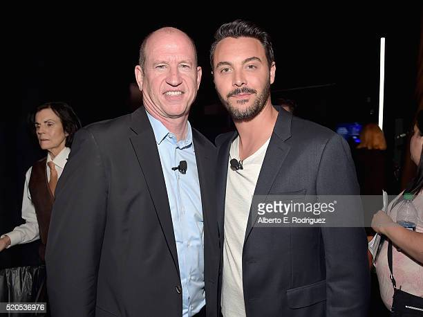 Vice Chairman of Paramount Pictures Rob Moore and actor Jack Huston attend the CinemaCon 2016 Gala Opening Night Event: Paramount Pictures Highlights...