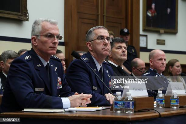 Vice Chairman of the Joint Chiefs of Staff Air Force Gen Paul Selva Commander of the US Strategic Command Air Force Gen John Hyten Vice Chief of...