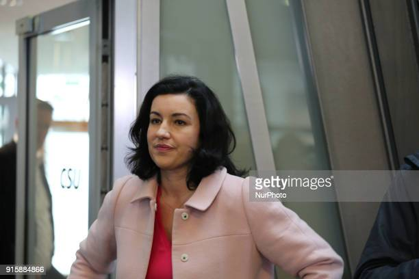 CSU vice chairwoman Dorothee Baer is seen in the picture in Munich Germany on February 8 2018 She is said to be the next minister of economical...
