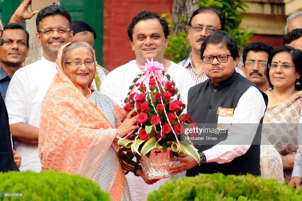 Bangladesh Prime Minister Sheikh Hasina Visits Jorasanko Thakur Bari  Ancestral Home Of Rabindranath Tagore