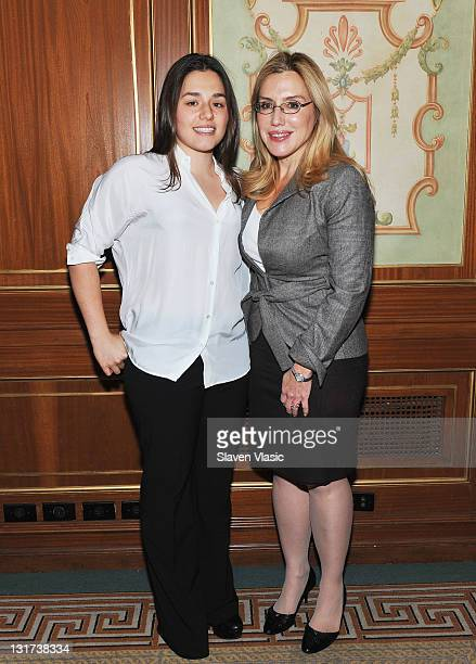 Vice Charirman of Prudential Douglas Elliman I Dolly Lenz and daughter Jenny Lenz attend the 23rd annual Police Athletic League's Women of the Year...