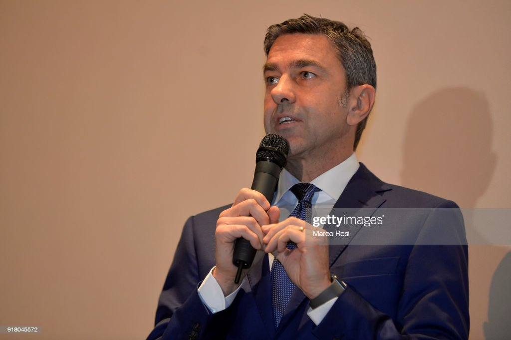 FIGC Vice Commissioner Alessandro Costacurta Meets Students