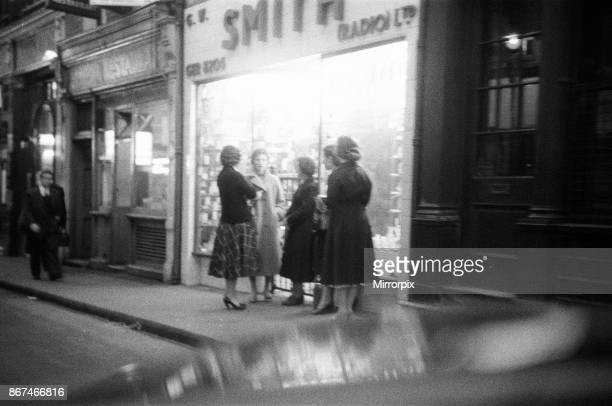 Vice in Soho, West London Feature, 9th May 1956.