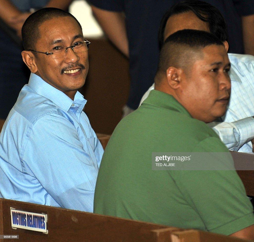 Vice Mayor Esmael Mangudadato (L) and hi : News Photo