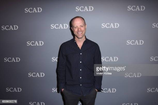 """Vice president and executive producer of Jupiter Entertainment Matt Sprouse attend QA for """"Solving the Mystery"""" during Day One of the aTVfest 2017..."""